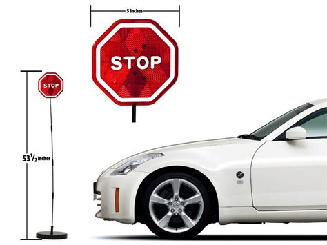 Stop Garage by Parking Stop Sign Sensor Garage Led Auto Signal