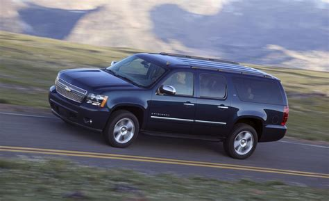 chevy suburban ltz car and driver