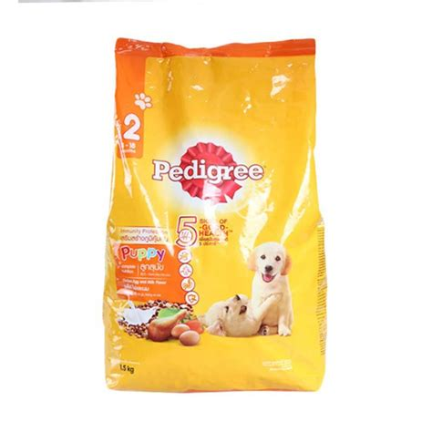Makanan Anjing Pedigree Puppy Chiken 400gr jual pedigree puppy chicken egg milk flavor 1500 g