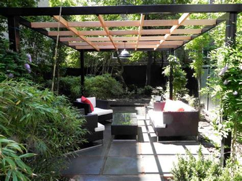 small outdoor spaces before after don statham s small urban space retreat