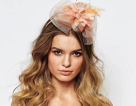 Wedding Guest Hairstyles With Fascinator by Wedding Guest Hairstyles With Fascinator Find Your