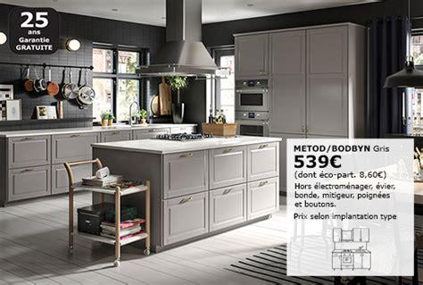 le de cuisine ikea meubles bas hauteur caisson 80 cm syst 232 me metod ikea
