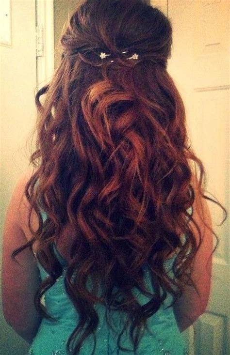 prom hairstyles loose curls loose curls long hair for prom www pixshark com images