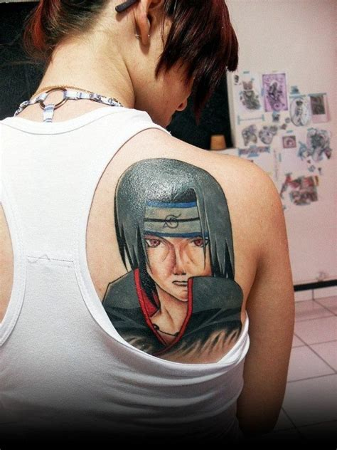 tattoo 3d naruto 52 best anime tattoos