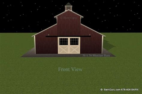 Cool Barn Designs by 3 Stall Horse Barn Design Plans