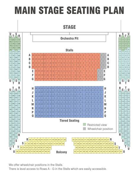 Royal Festival Hall Floor Plan seating plans royal spa centre leamington spa