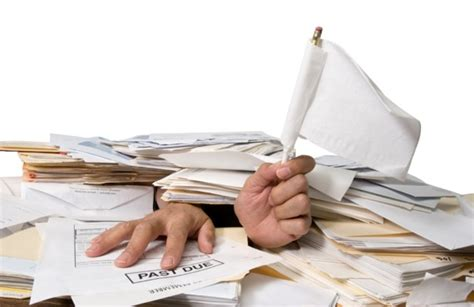 paper work when you feel overwhelmed by your workload