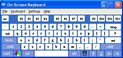 keyboard layout windows xp the windows xp on screen keyboard better living through