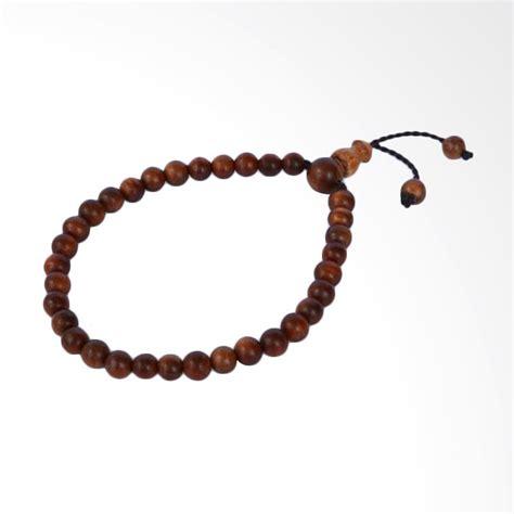 Tasbih Gelang Kaukah Kokka 33 Butir 1 jual riza craft kayu nagasari 33 butir gelang tasbih harga kualitas terjamin blibli