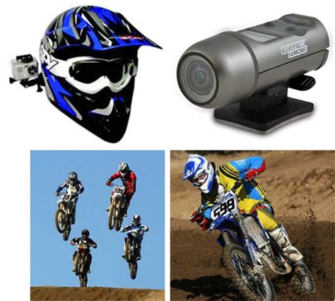 Helmet Camera Dirt Bike Helmet Camcorder Motocross Atv Com