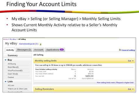 How Do You Find On Ebay Ebay Selling Limits Payment Holds How To Sell On Ebay