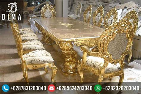 Meja Makan Dibawah 1 Juta meja makan mewah minerva ukir jepara murah terbaru df 0031 dima furniture jepara