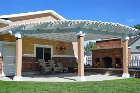 lattice covers and pergolas in utah boyd s custom patios