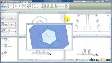 revit tutorial sweep revit tutorials revit families bench seating youtube