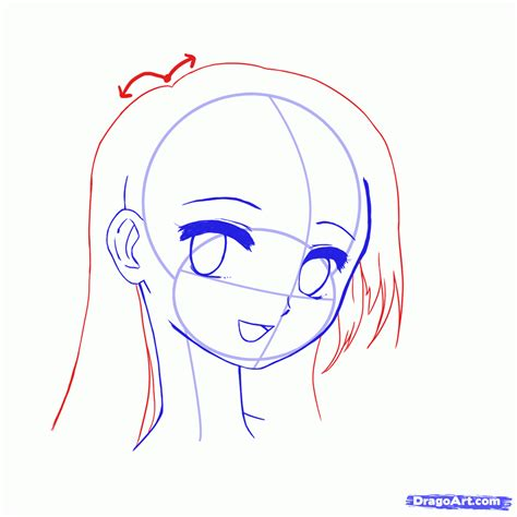 how to draw anime step by step how to draw anime faces step by step anime heads