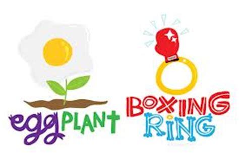 visual pun egg plant creative thinking skills visual pun