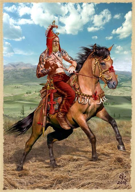 libro scythians warriors of ancient recreation of the scythian tattooed warrior found in burial bronze iron and blood