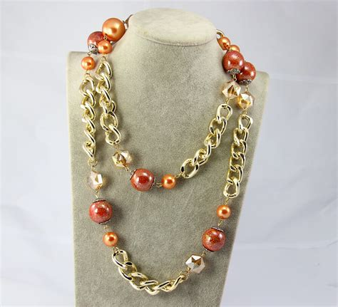 Imitation Pearl Necklace Kalung Mutiara Imitasi buy grosir 10 k rantai from china 10 k rantai