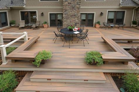 impressive modern deck designs   backyard  rooftop