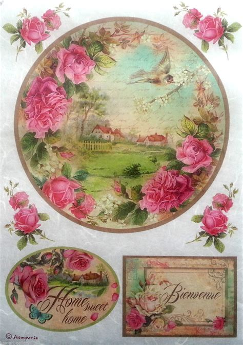 Decoupage With Rice Paper - rice decoupage paper decoupage sheets scrapbooking