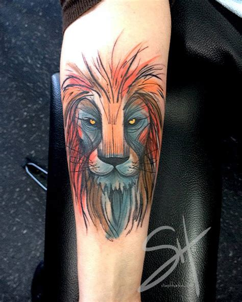lion arm tattoo designs best design ideas