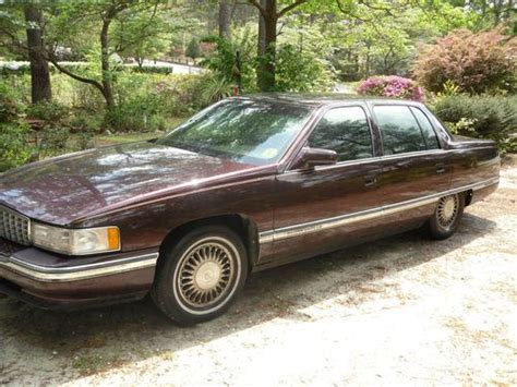 1995 cadillac deville 4 9 l owners manual buy used 1995 cadillac sedan deville 4 door 4 9l v8 burgundy fully loaded in columbia south