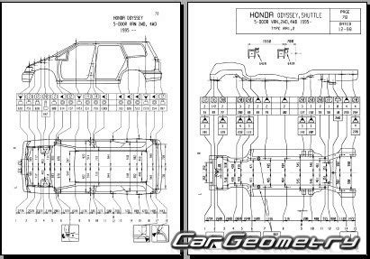 car maintenance manuals 1998 honda odyssey navigation system размеры honda odyssey 1995 1998 body repair manual