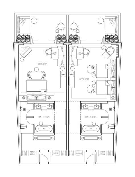 hotel layouts floor plan 1000 images about space planing layout on