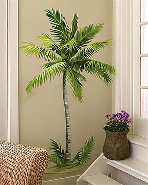 palm tree wall mural earth alone earthrise book 1 gardens trees and vinyls