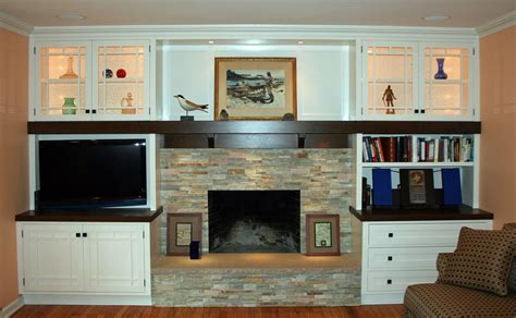 wall unit with fireplace crafted arts crafts style fireplace wall unit by