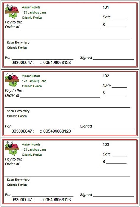 print sle blank checks bank check writing template