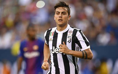 3d Juventus Paulo Dybala scarica sfondi paulo dybala blur juventus 4k stelle
