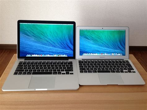 Macbook Air Emax macbook pro retina 13インチ late 2013 とmacbook air 11インチ mid 2013 の性能を比較してみた smco memory