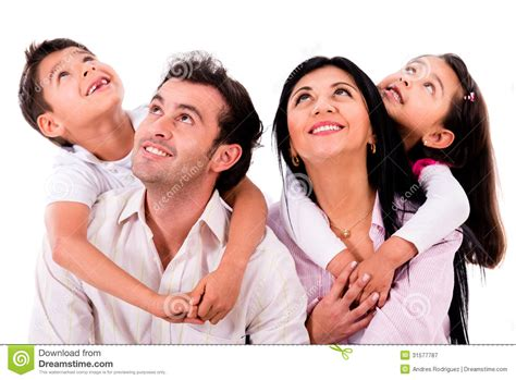 Family It Up by Family Portrait Looking Up Stock Image Image Of Beautiful