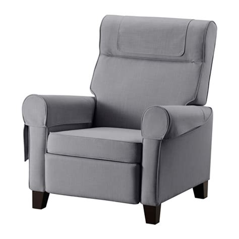 Gray Recliner by Muren Recliner Nordvalla Medium Gray