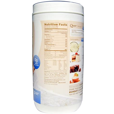 quest protein powder quest nutrition protein powder multi purpose mix 32 oz