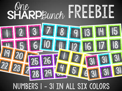printable calendar labels for classroom grab these free chalkboard numbers to label tables book