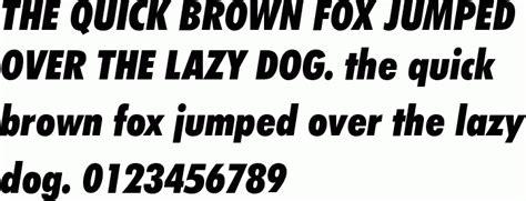 futura extra black condensed italic bt  font