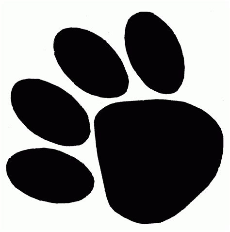 panther paw print clip clipart best clipart best panther paw print clip clipart best