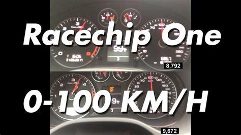 Racechip Audi A3 by Racechip One Audi A3 2 0 Tdi 0 100 Km H