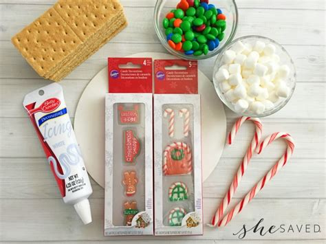 easy gingerbread house easy gingerbread house recipe shesaved 174