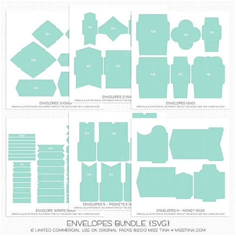 card template for cricut want envelopes bundle svg studio files 11 98