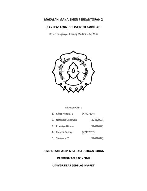 makalah layout dalam manajemen operasional makalah manajemen perkantoran 21