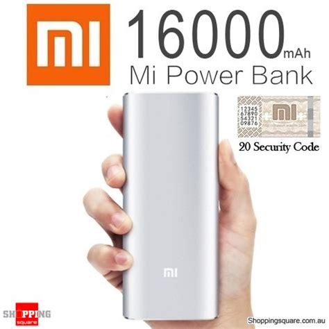 Best Powerbank Xiaomi 16000mah Original 100 2port Usb Termurah 100 genuine xiaomi 16000mah portable dual usb power bank li ion battery charger for iphone