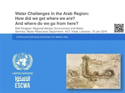 r klingbeil 2016 water challenges in the arab region