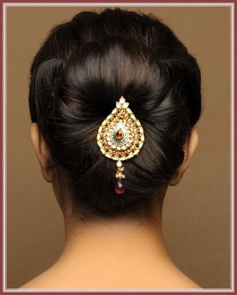 Hindu Bridal Hairstyles For Hair by Bridal Hairstyles For Indian Wedding
