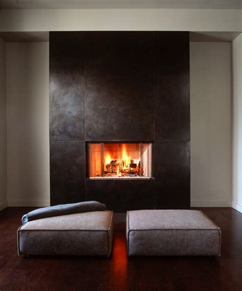 solid steel clad fireplace fireplaces