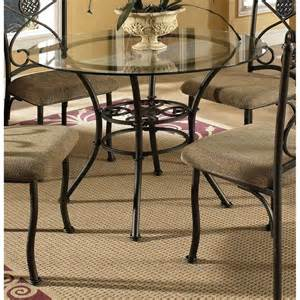 Metal Dining Tables And Chairs Browning Glass Top And Brown Powder Coated Metal Dining Table Furniture Home New Ebay