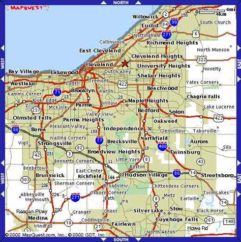 map of cleveland ohio map of cleveland ohio pictures to pin on pinsdaddy