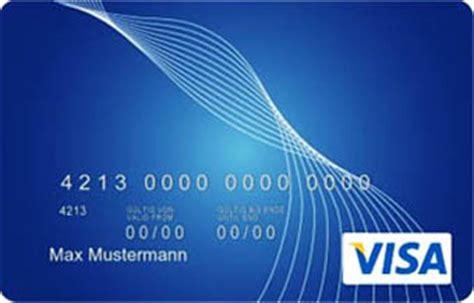 Kreditkarten Design Vorlagen Test Vergleich Lbb Visa Card Prepaid Kreditkarte
